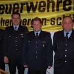 Auf die Feuerwehr kann man sich verlassen:</br>Michael Eichhorn Oberlöschmeister