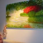 Aus Liebe zur Malerei:</br>Bilderausstellung von Ingrid Kassner