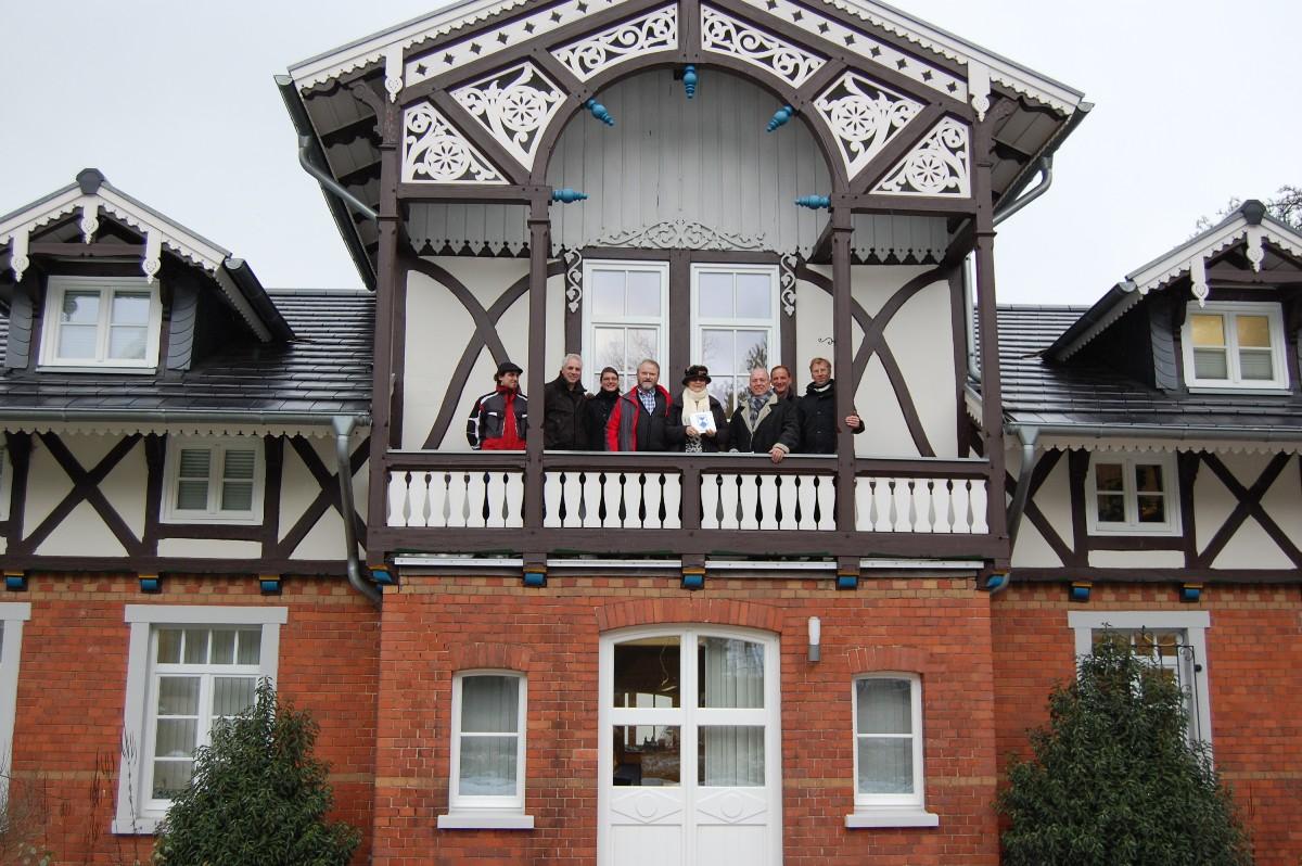 Architekt Minden das gebäude hat es verdient erste denkmalschutzplakette bückeburg