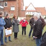 """""""Hier ist ein Kindergarten"""":</br>Stadtteilbegehung SPD Ortsverein"""