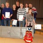 Zeugnisse und ein Sanitätsrucksack:</br>Kooperation Oberschule und ASB
