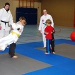 Kinder lernen fallen:</br>Schnupperkurs VfL-Judo