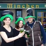 Grünes Bier aus dem Hahn:</br>Minchen feiert irischste Party des Jahres