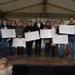 Bürgerbataillon übergibt Spendengelder</br>Aktion Kinderhilfe