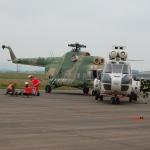 """""""Für alle die bestmögliche Versorgung""""</br>Übung auf dem Flugplatz mit vielen Verletzten"""