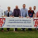 """""""Auf Achumer Wiese ist immer etwas los""""</br>FC Hevesen – eine gute Adresse für Sponsoren"""