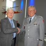 Gemeinschaft der Heeresflieger feiert Jubiläum</br>Festveranstaltung im Hubschraubermuseum mit 120 Besuchern