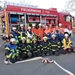 Aktivitäten der Jugendfeuerwehr</br>Besuch der Feuerwehreinsatzleitstelle