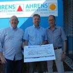 Feiern und Gutes tun</br>Dieter Ahrens spendet 2.000 Euro