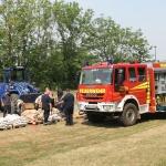 Stationsausbildung zum Hochwasserschutz</br>Übung der Kreisfeuerbereitschaft Nord