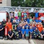 Fun und Action bei der Feuerwehr</br>30 Kinder bei Ferienspaßaktion