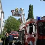"""Brand im """"Jetenburger Hof""""</br>Vier Leichtverletzte"""