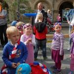 Spaß ohne Ende beim Kinderfest</br>Didi Ostermeier unterhält die Kleinen