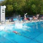 Abschwimmen im Bergbad</br>Hallenbadsaison beginnt Dienstag