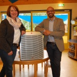 Gesunde Luft für die Kinder</br>Antonio Gaudioso spendet Luftreinigungssystem