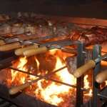 Schlemmerabend mit gegrillten Fleischspießen</br>Samba-Feeling und gute Laune