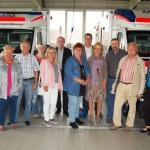 """""""Wir haben eine hochmoderne Fahrzeugflotte""""</br>SPD-Kreistagsfraktion besichtigt Rettungswache"""