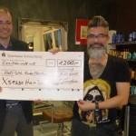 1.200-Euro-Spende für Flüchtlinge