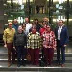 Werkstattrat der PLSW besucht Berlin