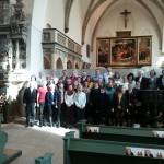 """Der Vision eine Gestalt geben</br>Landesbischof und """"Kreuz und Quer"""" in Wittenberg"""