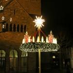"""Start """"Mindener Weihnachtsbeleuchtung""""</br>Adventskranz und Riesentanne"""