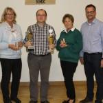 Wanderpokal für Andreas Dettmer</br>Herbstschießen SV Scheie