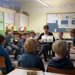 Vorlesen an der Grundschule Im Petzer Feld