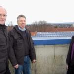 Dieter Ahrens hatte die Idee</br>Neue Photovoltaikanlage auf dem Ratsgymnasium