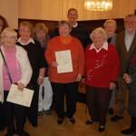 Sozialverband ehrt langjährige Mitglieder</br>Jahresabschlussfeier mit Kaffee und Kuchen
