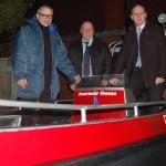"""""""Investitionen in Sicherheit unserer Bürger""""</br>Übergabe Feuerwehrboot und Mittleres Löschfahrzeug"""