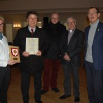 Auszeichnung für das Palais im Park</br>Ehrenplakette des Heimatvereins