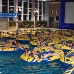 Beste Unterhaltung für 200 Kinder</br>Aqua Kino im Hallenbad