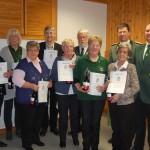 Sechs neue Mitglieder im Schützenverein</br>50 Jahre Damenabteilung
