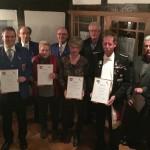 Schalmeienkapelle wird 90 Jahre alt</br>Ehrungen bei der Mitgliederversammlung
