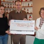 800-Euro-Spende für AWO-Zeltlager</br>Benefiz-Konzert mit dem Hofmann-Trio