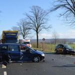 Sechs Verletzte nach Verkehrsunfall</br>Unfallursache noch ungeklärt