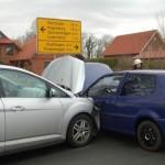 Verkehrsunfall am Blitzkasten</br>Drei Leichtverletzte
