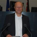 """""""Bedenken gegen trassenfernen Ausbau""""</br>Karsten Becker fordert Schallschutz für Anlieger"""