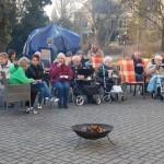 Bratwürste und Frühlingslieder</br>Osterfeuer im Herminenhof