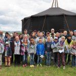 Sibirien statt Karibik</br>Zeltlager der Bilche bei Hameln