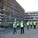 Nur Einbett- und Doppelzimmer im neuen Klinikum</br>Baustellenführung für Seniorenbeirat Rodenberg und WIR für Schaumburg