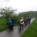 Radtour der Siedler im Regen</br>Grillteam macht alle Teilnehmer satt