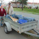 Aktion saubere Landschaft</br>Müllsammeln der Siedler