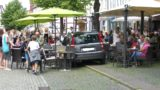 Pkw rollt in Eiscafé</br>Keine Verletzten