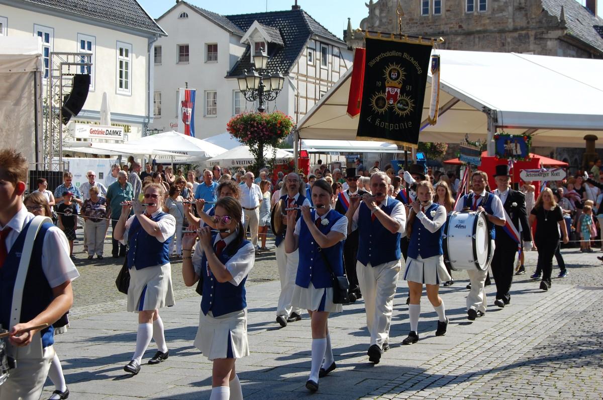 Bürgerschießen wieder ein echtes VolksfestStadtmajor blickt ...