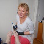 Gepflegte Füße im Blickpunkt</br>Aufgabe Anti-Aging-Concept