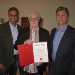 SPD ehrt Joachim Göke</br>Mitgliederversammlung Ortsverein