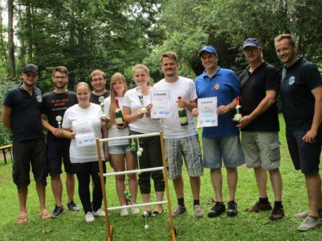 Auerott organisiert 1. Leitergolfturnier</br>Rusbend 3 gewinnt spannendes Finale