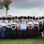 Röcker präsentieren Bückeburger Tracht</br>Europeade in Namur mit 3.900 Teilnehmern