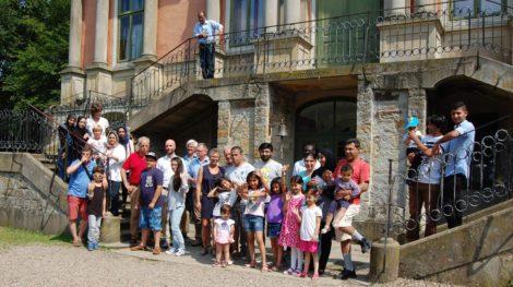 """""""Zusammen leben lernen""""</br>Rotary Club unterstützt Begegnungswoche in Schloss Baum"""